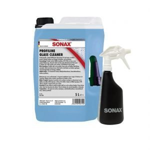 SONAX PROFILINE Glass Cleaner 5L + SONAX Spray Boy at Cullen Car Care - Detailing Products in Ireland