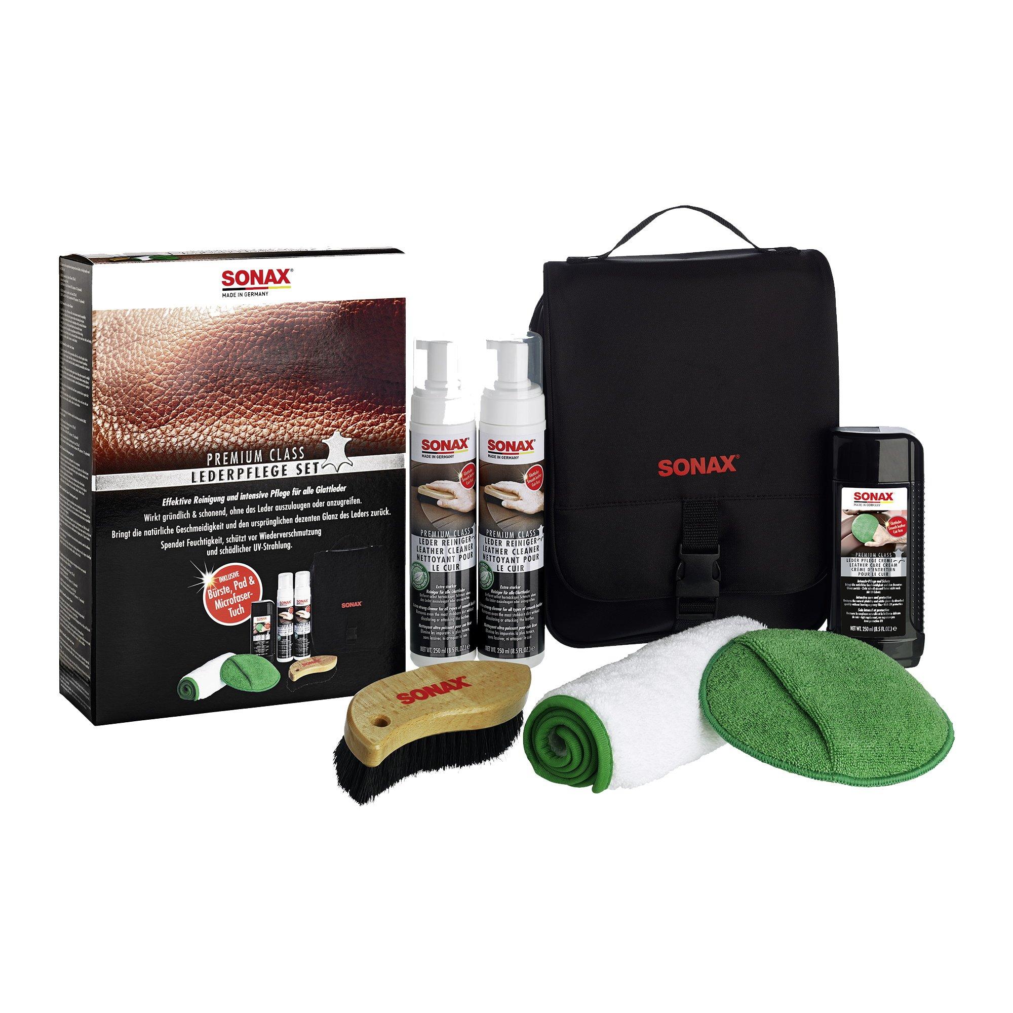 SONAX PremiumClass Leather Care Set - Cullen Car Care Shop