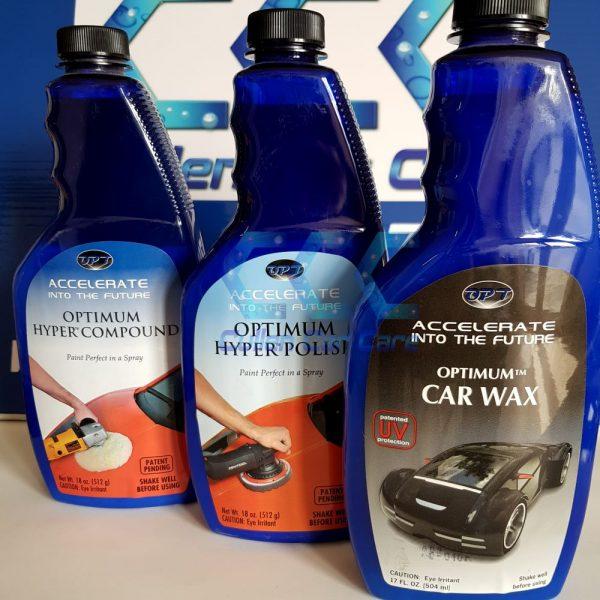 Optimum Hyper Compound + Optimum Hyper Polish + Optimum Car Wax Combo at Cullen Car Care Detailing Products