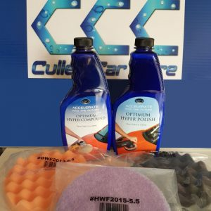Optimum Hyper Compound + Optimum Hyper Polish + Set of 3 Polishing Pads at Cullen Car Care Detailing Products