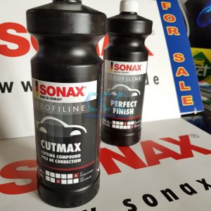 SONAX Cutmax + SONAX Perfect Finish Special Offer 2 at Cullen Car Care Products Ireland