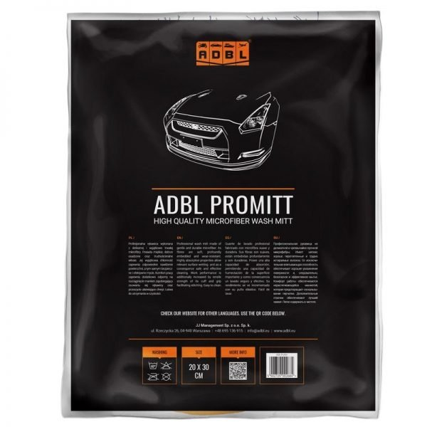 ADBL Pro Mitt (packaging) at Cullen Car Care Shop - Car Detailing Products in Ireland